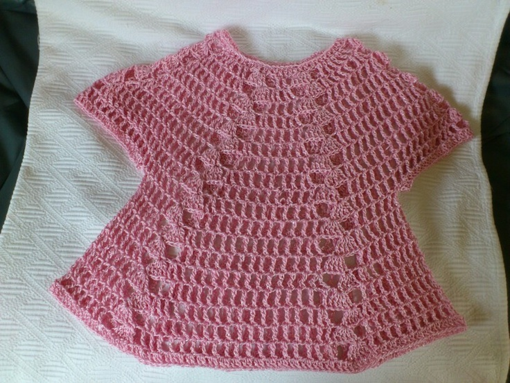 Emily's crocheted top