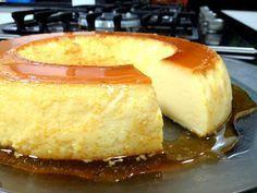 Essa delícia é maravilhosa mesmo sendo preparada de uma maneira diferente - Aprenda a preparar essa maravilhosa receita de Pudim de Leite - Não vai ao forno