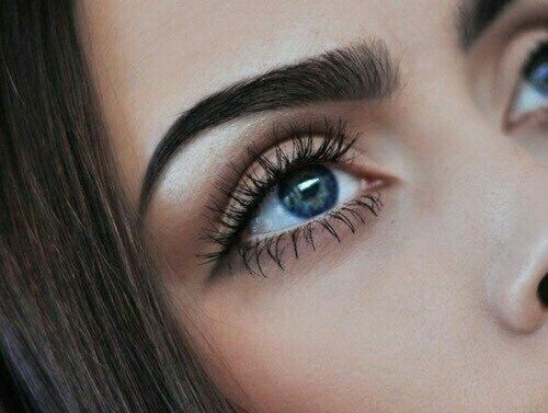 Image via We Heart It https://weheartit.com/entry/153029919 #eye #eyelashes #fashion #girl #makeup #eyeshadows