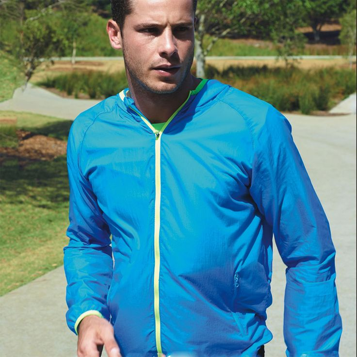 QUICK | wet weather contrast running jacket with foldaway bag  (https://www.blankclothing.com.au/quick-wet-weather-contrast-running-jacket-foldaway-bag/)