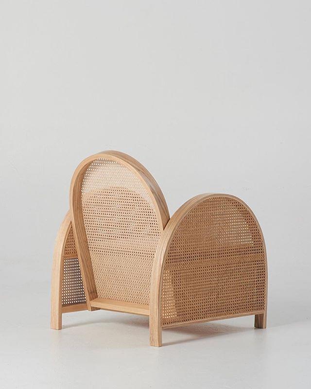 WEBSTA @ douglasandbec - From back. ARCH cane chair.