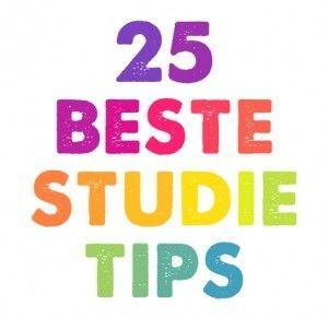 25 studietips voor beelddenkers