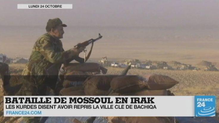 Bataille de #Mossoul en #Irak, guerre en #Syrie, accident de train au #Cameroun, évacuation de la #Jungle de #Calais... Le point sur l'actualité en VIDÉO