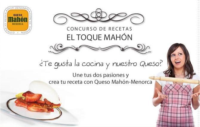 Concurso de recetas Queso de Mahon