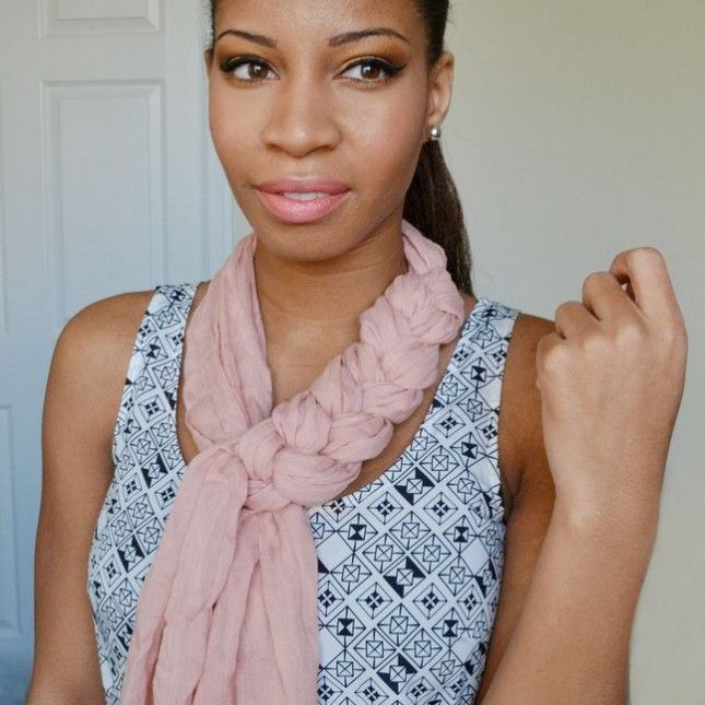 12 Creative Ways to Style a Scarf via Brit + Co.