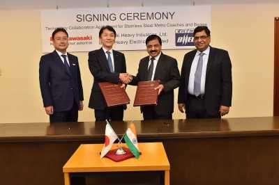 BHEL signs TechnologyCollaborationAgreement with KawasakiHeavyIndustries Ltd.for Manufacture of Stainless Steel Coaches for Metros    New Delhi, June29:   #7thpay commission #anupam kher #arnab goswami #Arshad warsi #auto expo 2016 #bbc #bbc news #bbc news world #bbc world #BHEL #BHEL signs TechnologyCollaborationAgreement with KawasakiHeavyIndustries Ltd #Brexit #brics summit #bureaucracy examples #bureaucracy max weber #bureaucracy meaning #burea