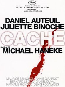 Cache - Michael Haneke: Favourite Films, Cache, Cinema, Movies, Movie Poster, Film Poster