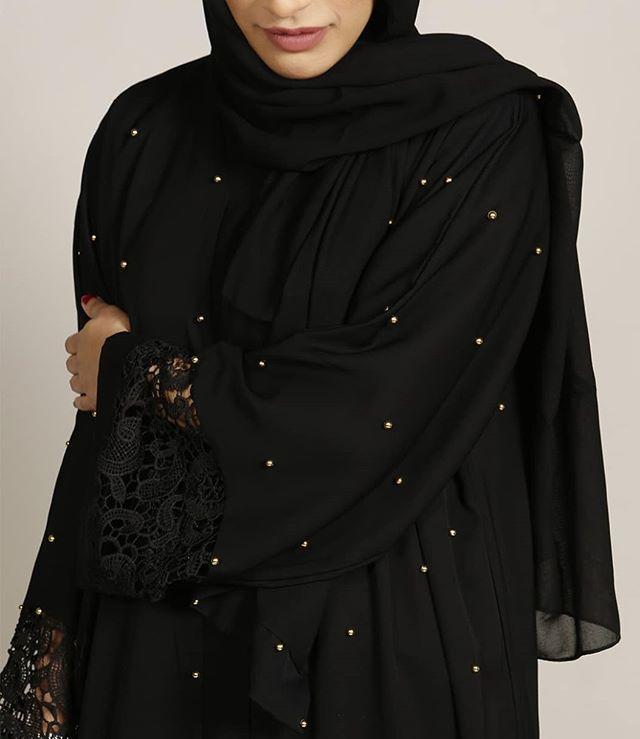 Gold Beaded Abaya Www Missabaya Com Missabaya Abaya Abayah Modestwear Muslim Muslimwoman Hijab Muslimslifestyle Abayas Abaya Modest Outfits Fashion