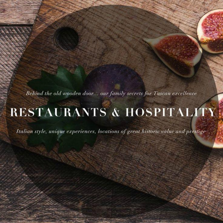 Restaurants and Hospitality in Tuscany, Italy