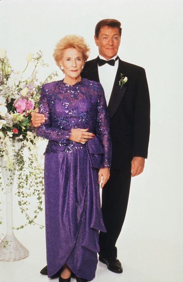 The Young and the Restless /Katherine Chancellor (Jeanne Cooper) and Rex Sterling (Quinn Redeker)