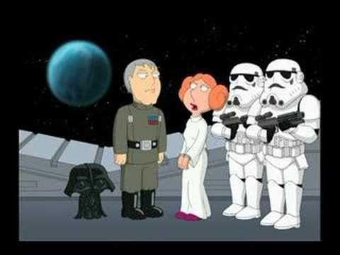 Blue Harvest - Leia Meets Stewie Vader