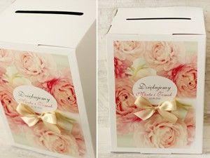 Pudełka na koperty - Amelia wedding