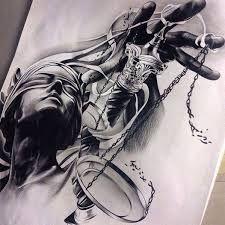 Resultado de imagen para tatuaje balanza justicia