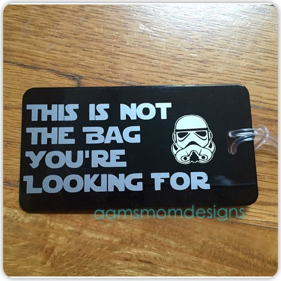 Classic Star Trooper Not the Bag You're Looking by aamsmomdesigns