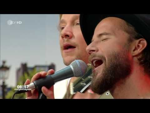 "09.06.2016 ZDF Morgenmagazin - Niila feat. Samu Haber ""A hundred years"""