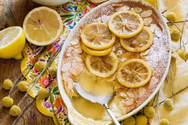 Add zest to winter puddings with all-time classic lemons.