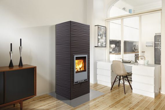 Tulikivi will introduce its new Aalto fireplace at Habitare | Tulikivi