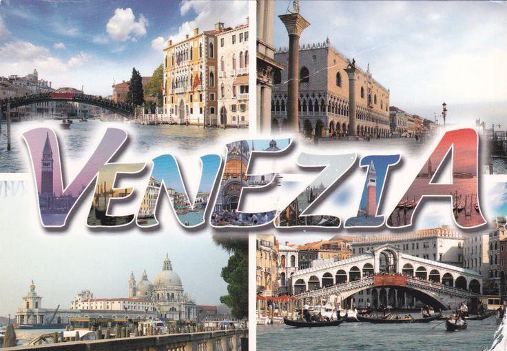 Venice (Italy) - Postcard