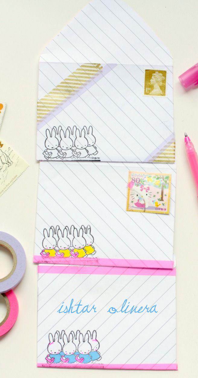 Free printable envelope  by Ishtar Olivera