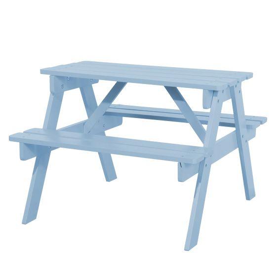great table piquenique enfant en bois bleu with table de camping pliante auchan. Black Bedroom Furniture Sets. Home Design Ideas