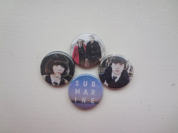 Submarine Oliver Tate and Jordana Bevan badges/ by SuckyBadges, £2.70