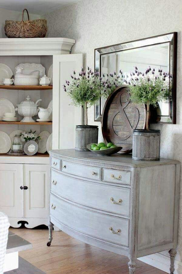 Formal Living Room Hutch And Color Scheme