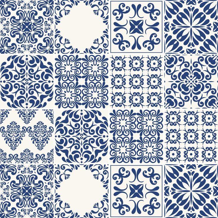 Aparador Moderno Blanco ~ Más de 25 ideas increíbles sobre Adesivo azulejo portugues