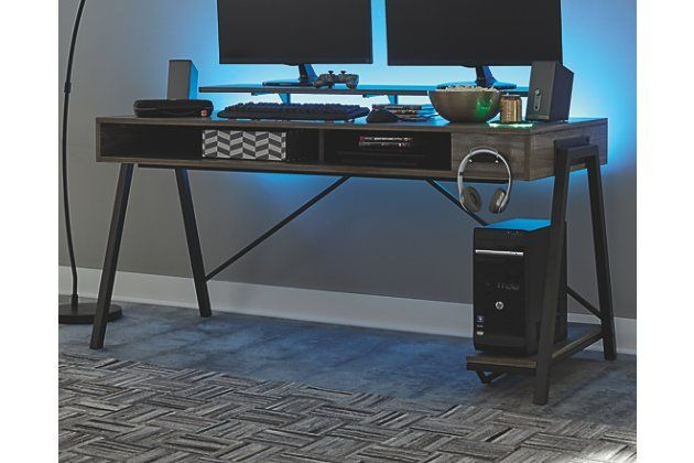 Barolli Gaming Desk In 2020 Gaming Desk Desk Modern Design Desk