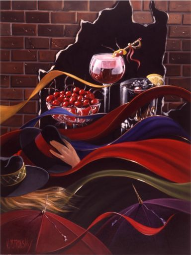 Artify Collections - Hand Painted High City Life Oil Painting Number 038, $74.95 (http://artifycollections.com/hand-painted-high-city-life-oil-painting-number-038/)