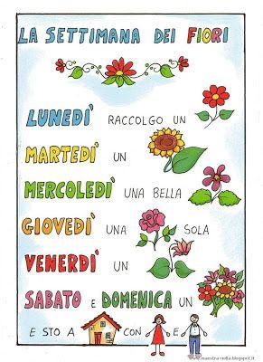 18 best filastrocche illustrate images on pinterest for Maestra nella il libro dei colori