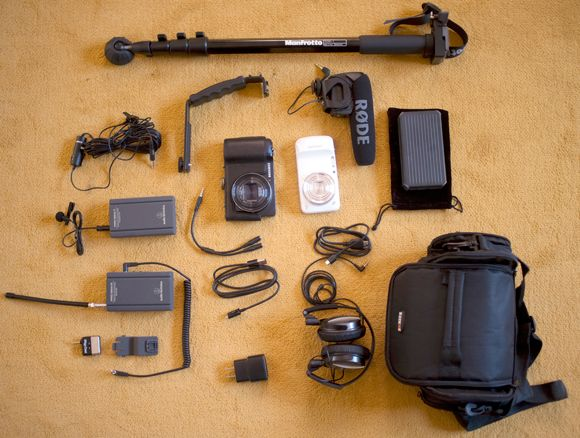 """#filmmakers: Everything you need for a do it yourself #mobile kit.  It's being called a """"StoryMaker Kit"""""""
