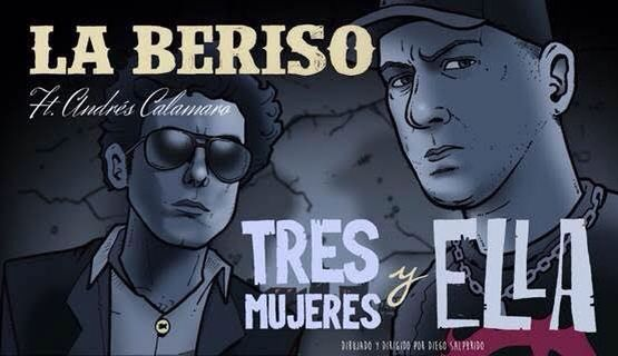 Andrès Calamaro y La Beriso. (Facebook)