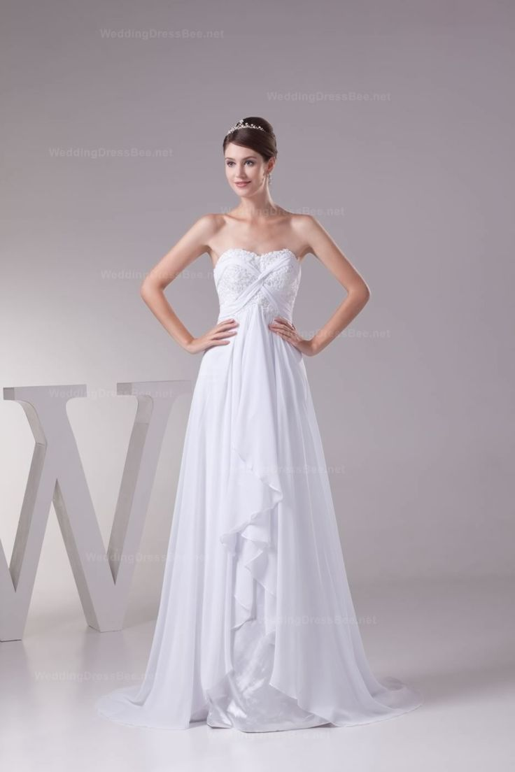 wedding dresses jamaican wedding dresses Attractive sweetheart beaded lace appliques detail chiffon wedding dress perfect for a Jamaican beach wedding