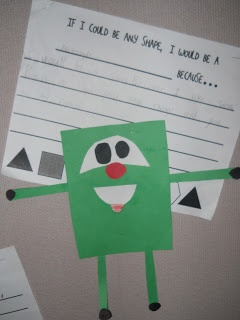 Mrs. Ts First Grade Class: Geometry Some very cute geometry ideas for Grades 1 to 4