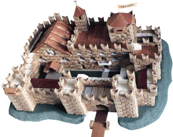 ARCHITETTURA - Aerei di carta, maschere origami,architetture, scatole, cappelli origami, arredamento, decorazioni origami, creati da Franco Pavarin