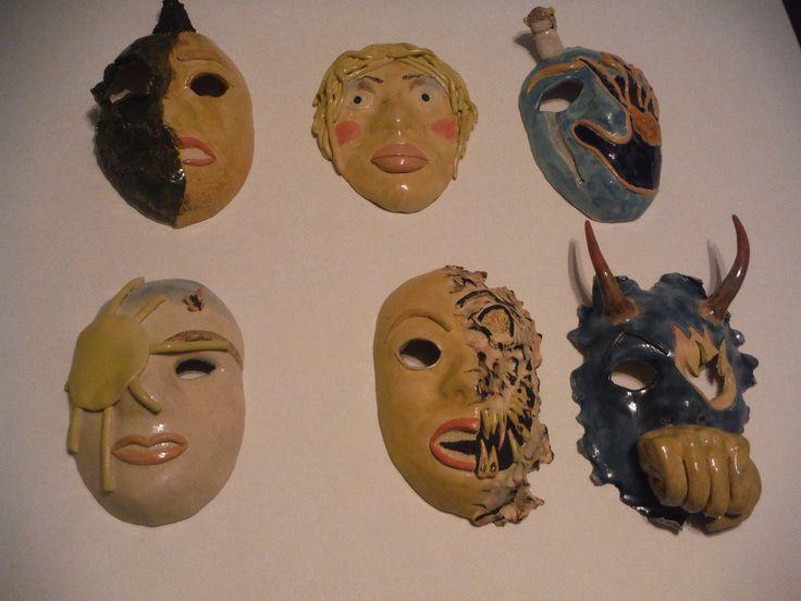 Full set of Emotion Masks