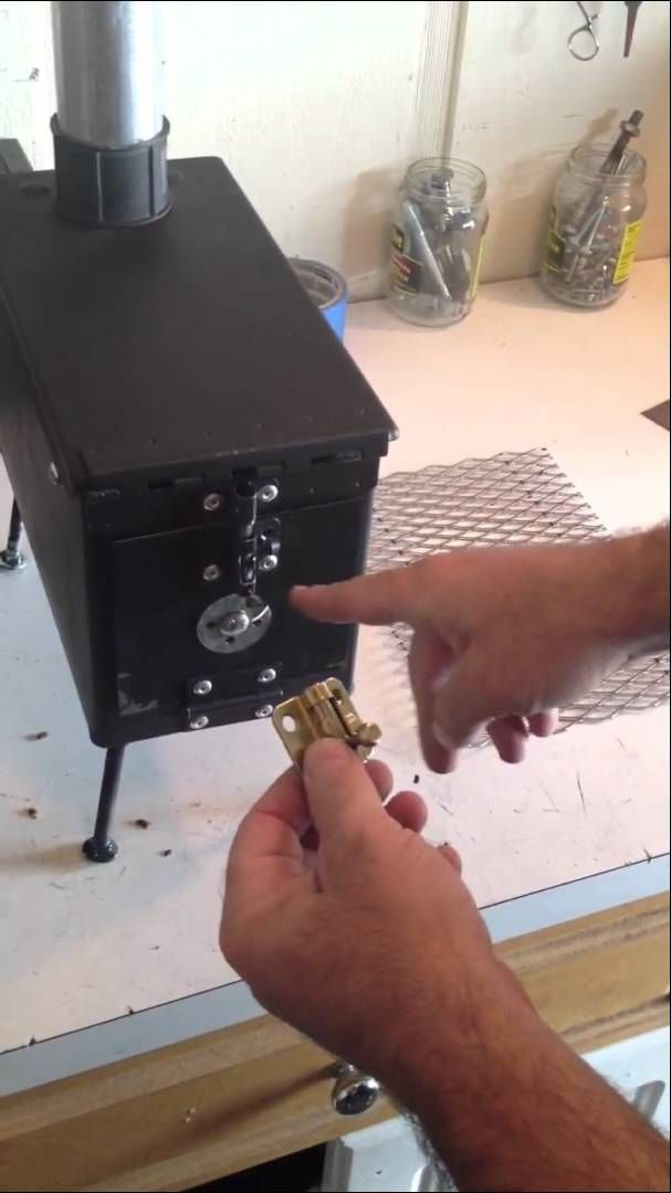 AMMO CAN STOVE (PART 1)
