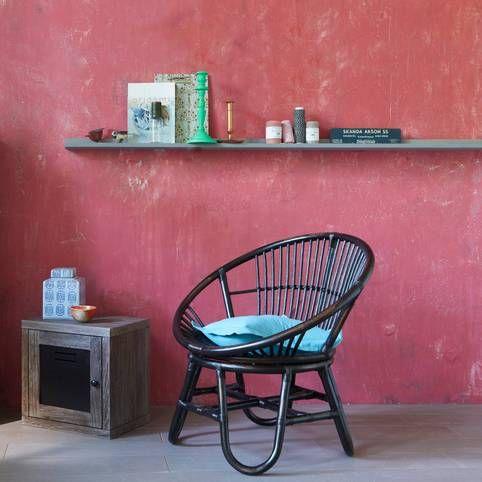 100 euros fauteuil en rotin naturel verni 3 suisses for Meuble en rotin naturel