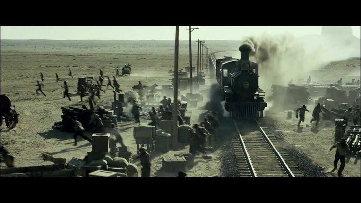 Одинокий рейнджер - крушение поезда