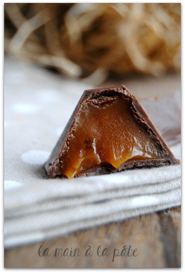 chocolats maison au caramel au beurre salé
