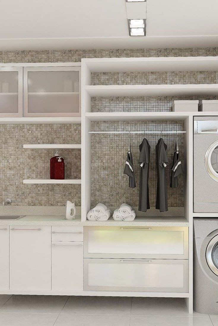 Best Laundry Room Design Ideas 20   Laundry room design, Laundry ...