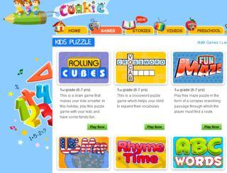 Online Kids' Learning Games (for Preschool, Kindergarten & Lower Elementary)