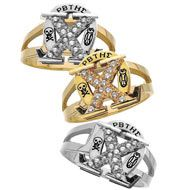 turn your pin into a ring once you graduate. such a cute idea!Rings Sets, Ideas Turn, Badges Rings, Pin Rings, Graduation Presents