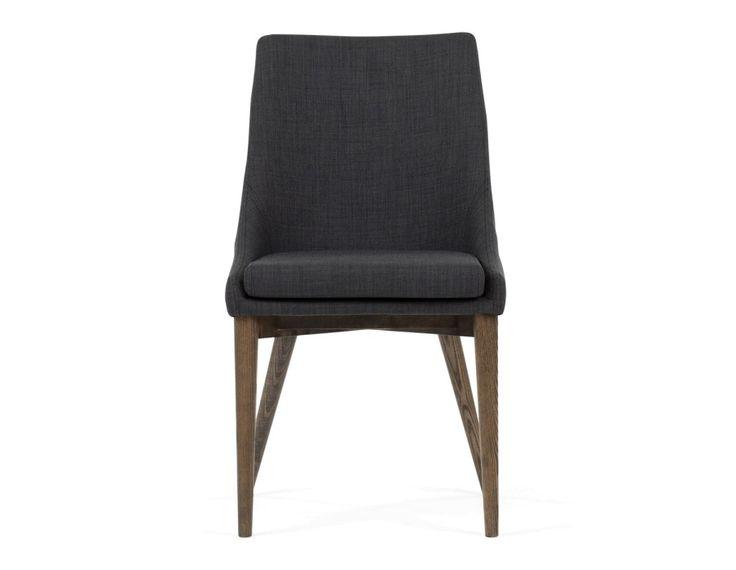 abbywood chaise de salle manger gris fonc - Salle A Manger Gris Anthracite