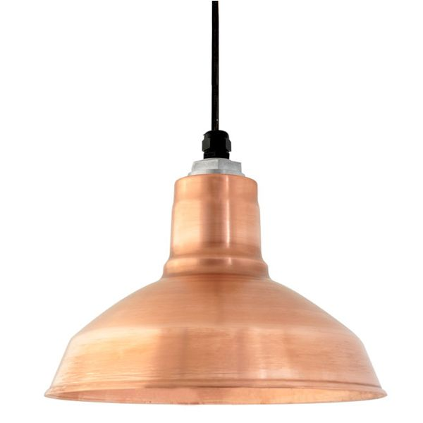 Add A Touch Of Glamor To Your Lighting With The Drake Copper Pendant This Warehouse Style Light Is Hand Spun From Solid For Highest Quality