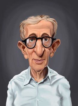 Woody Allen by robart at zippi.co.uk art | decor | wall art | inspiration | caricature | home decor | idea | humor | gifts