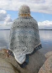 Ravelry: shell shawl pattern by Ruth Sorensen