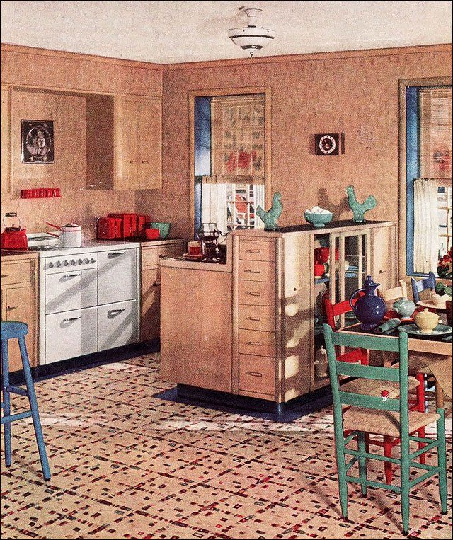 19 best 1930's kitchen ideas images on pinterest