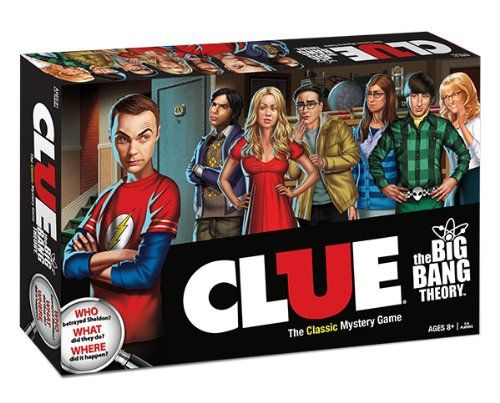 The Big Bang Theory Collector's Edition Clue - http://geekarmory.com/the-big-bang-theory-collectors-edition-clue/