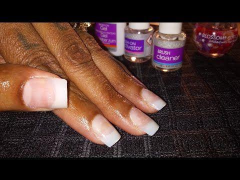 New Broadway Nails Brush On Gel Nail Kit Youtube Gel Nail Kit Broadway Nails Acrylic Nail Kit